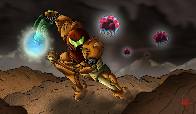 Metroid Fan Art By Kodinkenji