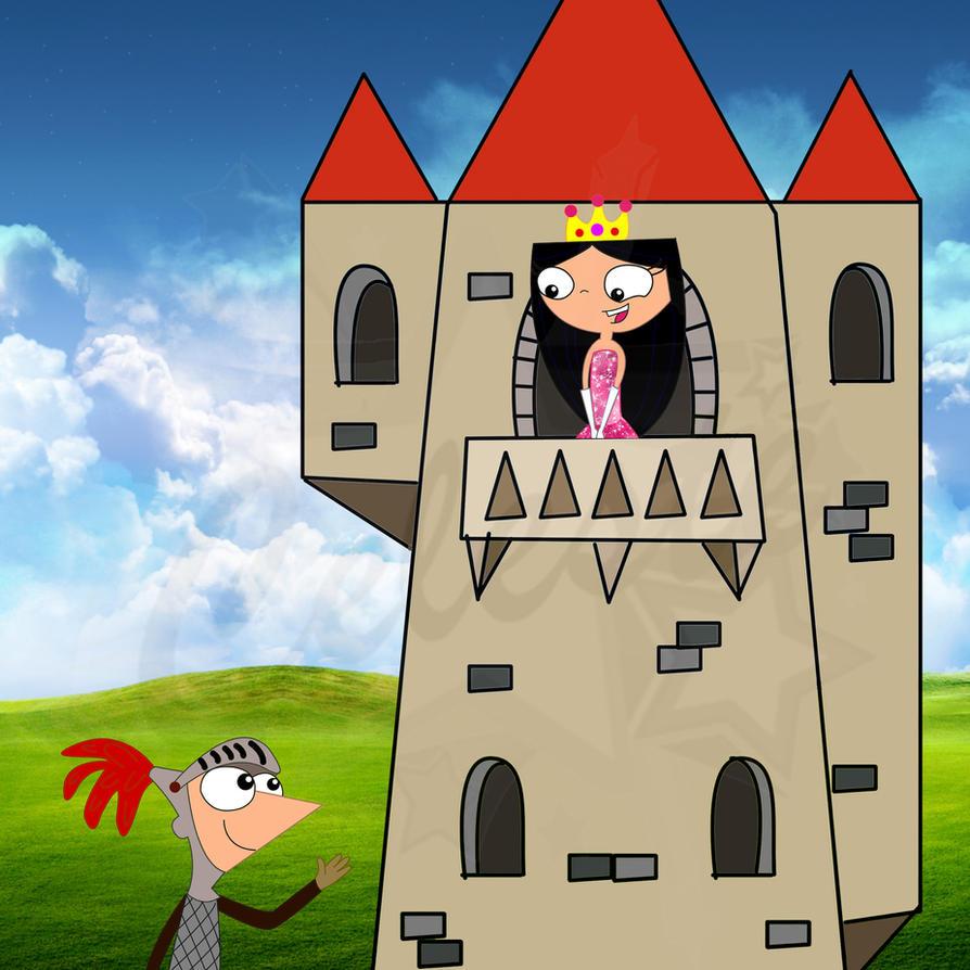 the princess and her knight by celesteyupi