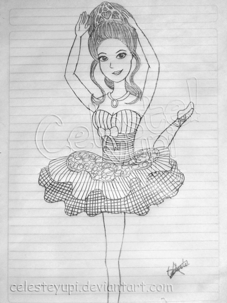barbie bailarina by celesteyupi