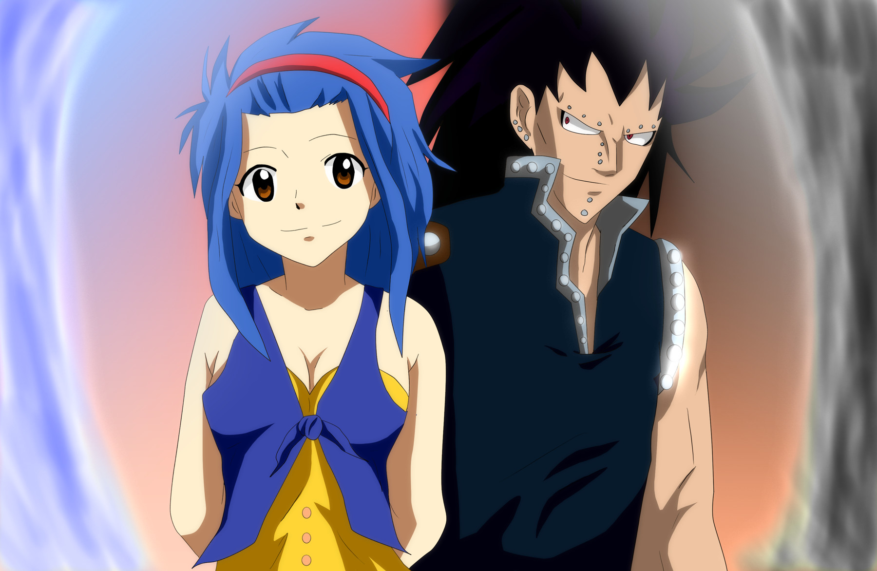 Fairy Tail Gajeel And Levy by Mr123GOKU123 on DeviantArt