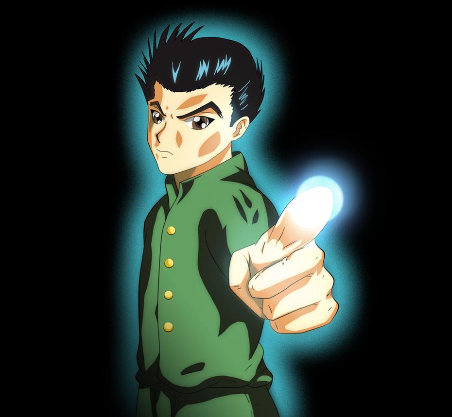 yu yu hakusho yusuke urameshi by mr123goku123 on deviantart