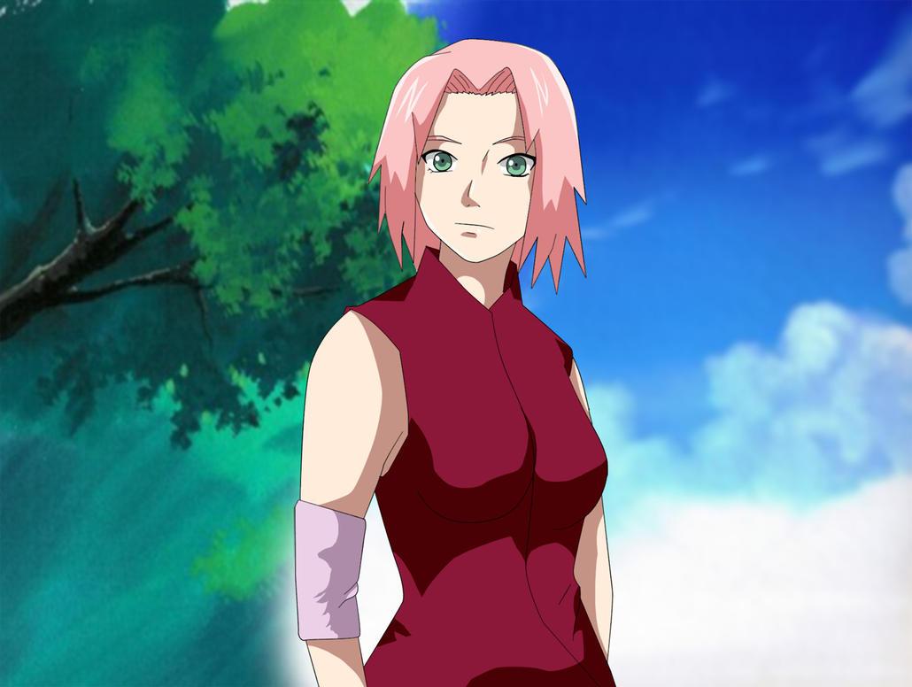 Naruto Shippuden Sakura Haruno by Mr123GOKU123