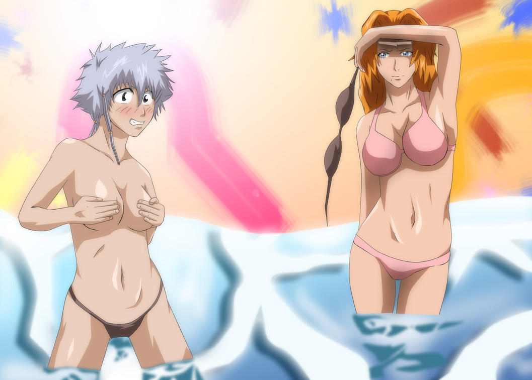 Bleach Swimsuit Rangiku Matsumoto Isane Kotetsu by Mr123GOKU123