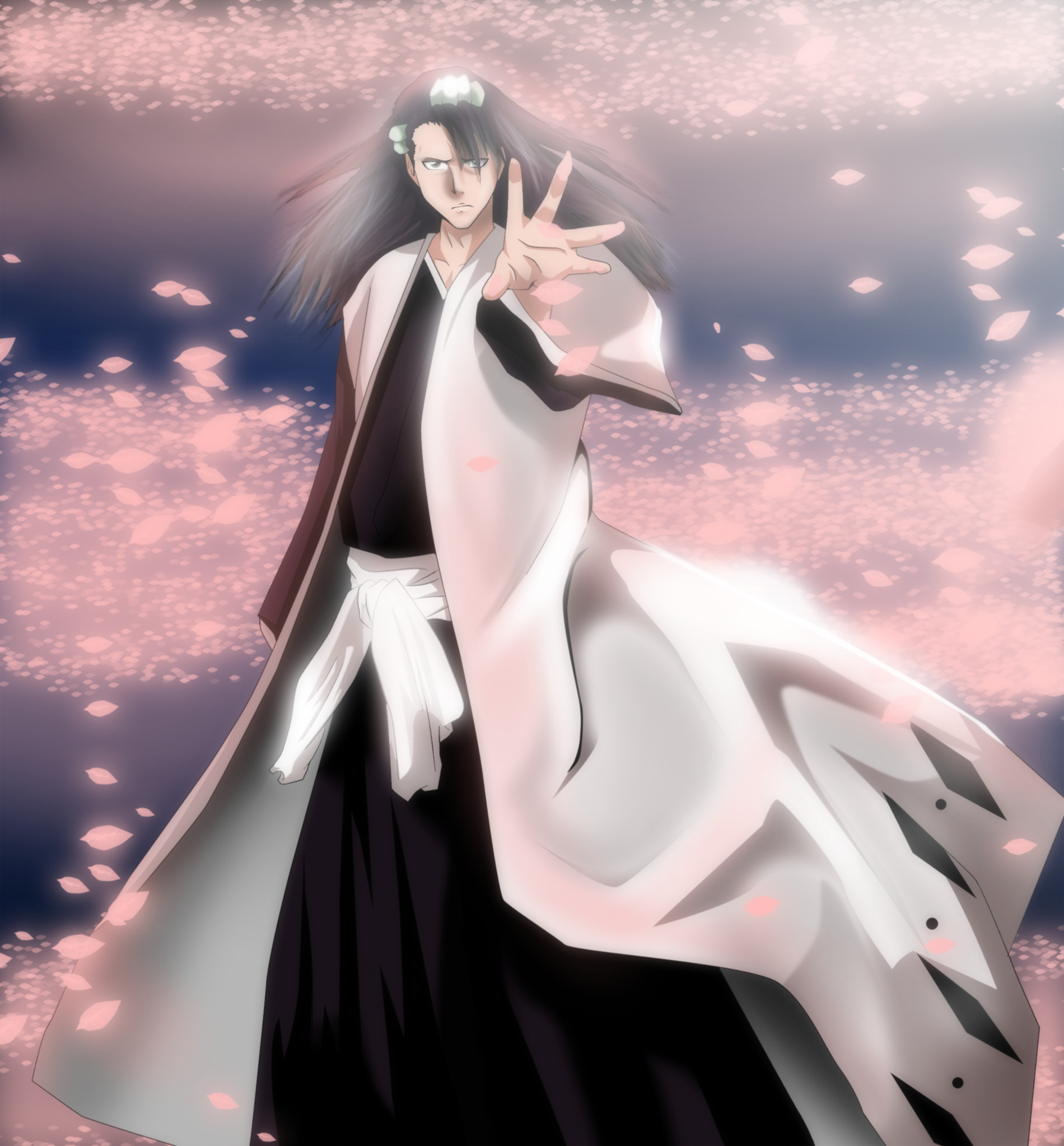 Bleach Captain Squad 6 Byakuya Kuchiki Bankai by ...