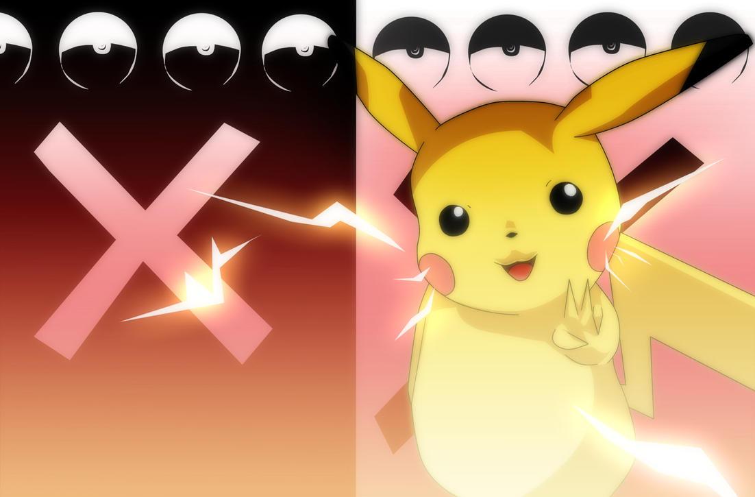 Pokemon X And Y Pikachu Background by Mr123GOKU123