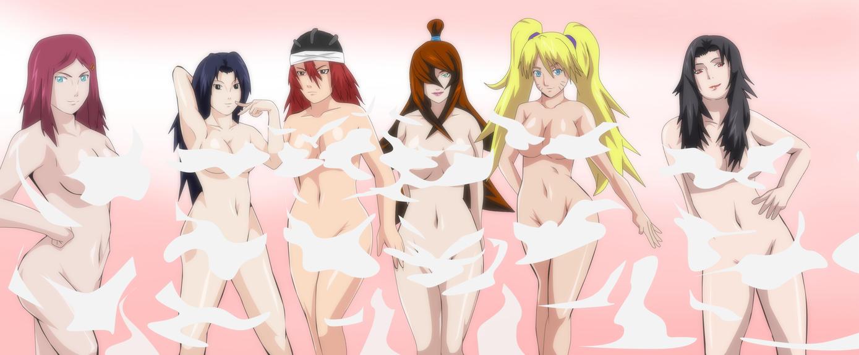 Naruto hentai kushina and mei