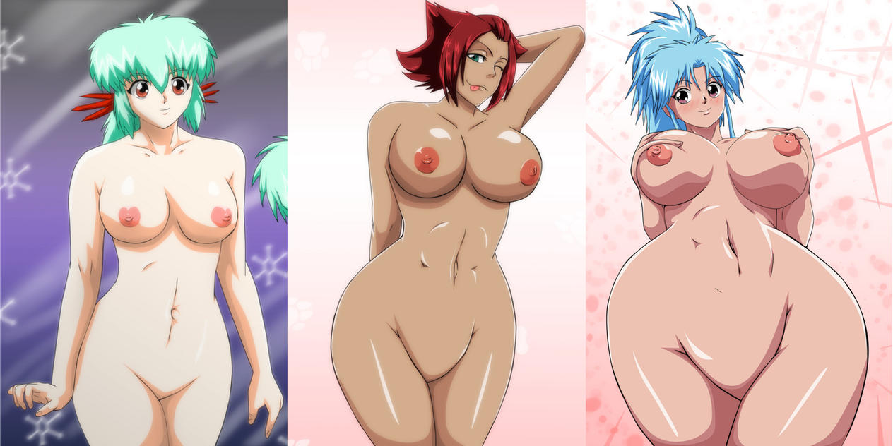 Crossover Boob Collection 2 by Mr123GOKU123