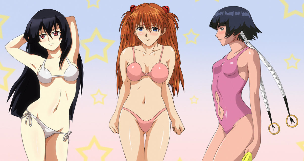Anime Swimsuit  Crossover Requested by Mr123GOKU123