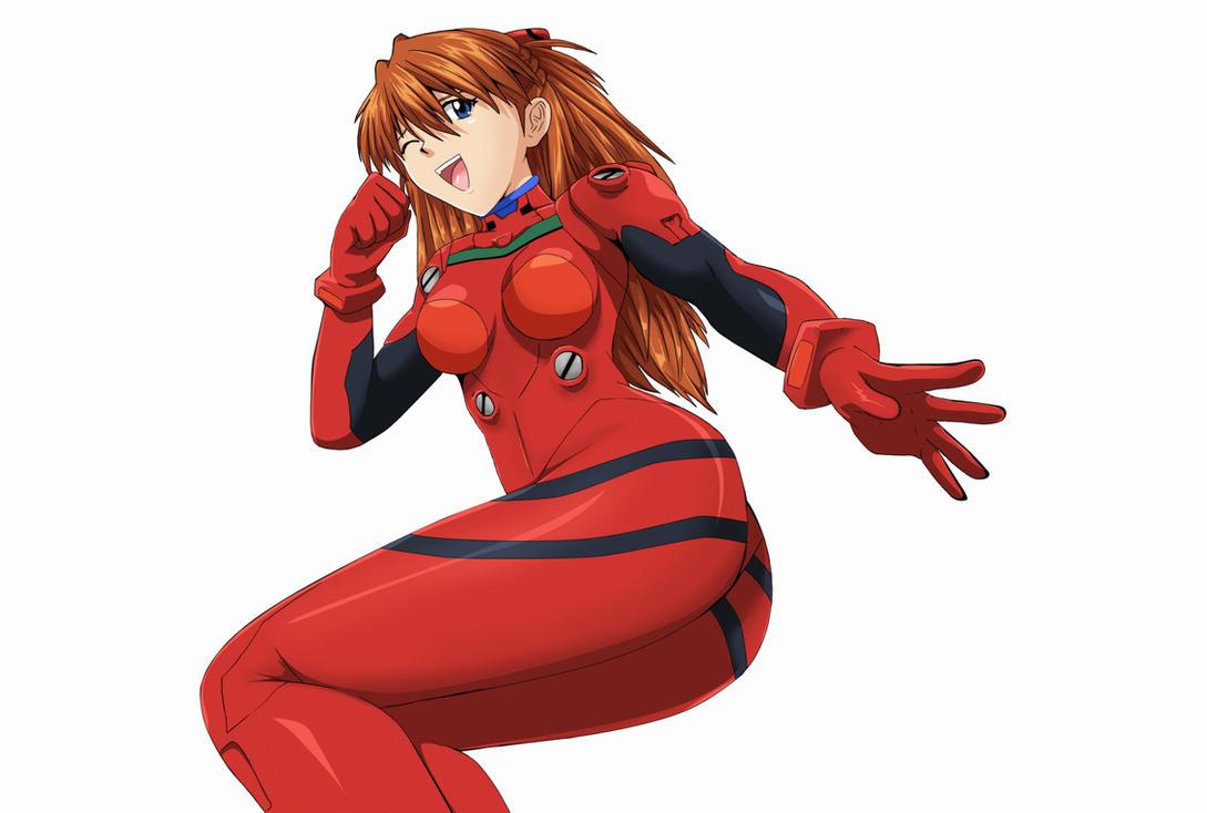 Evangelion-Asuka-Langley-Souryu by Mr123GOKU123