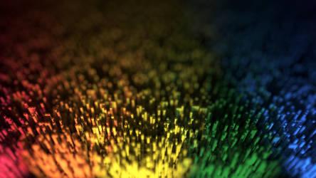 Rainbow Abstract by HrSchmitt