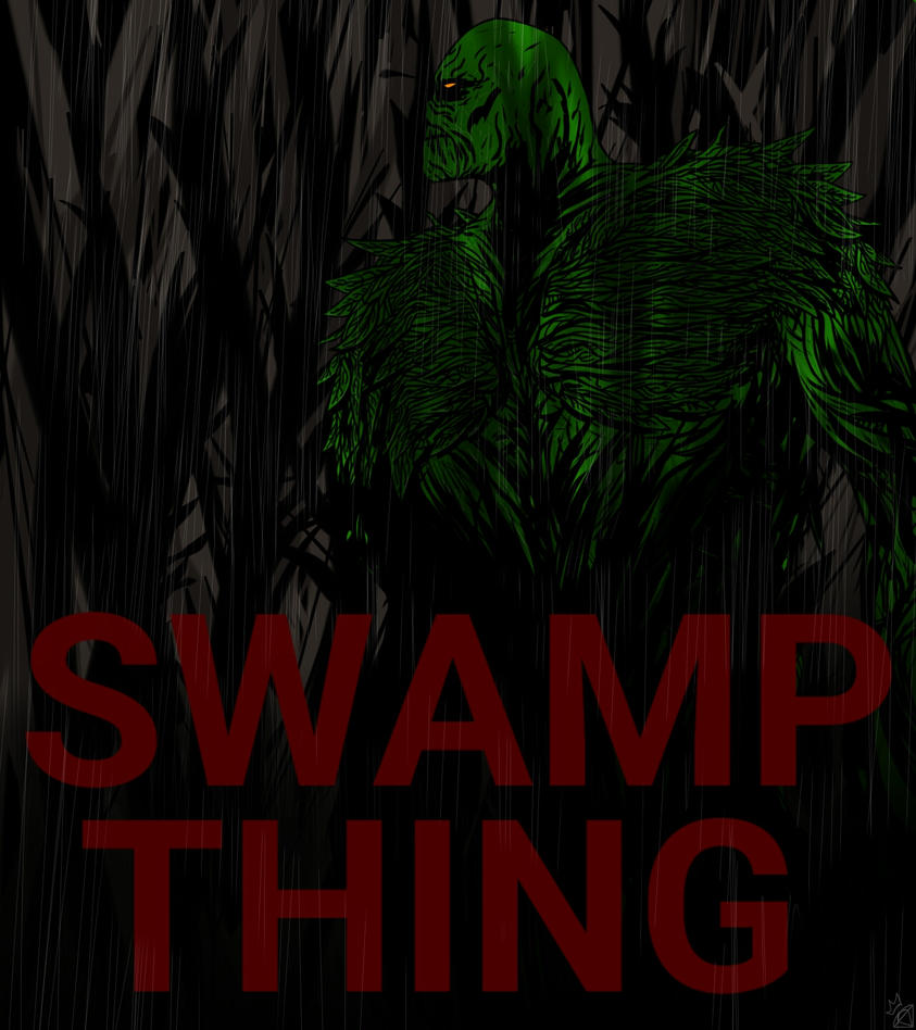 Swamp Thing Challenge by violentkaos