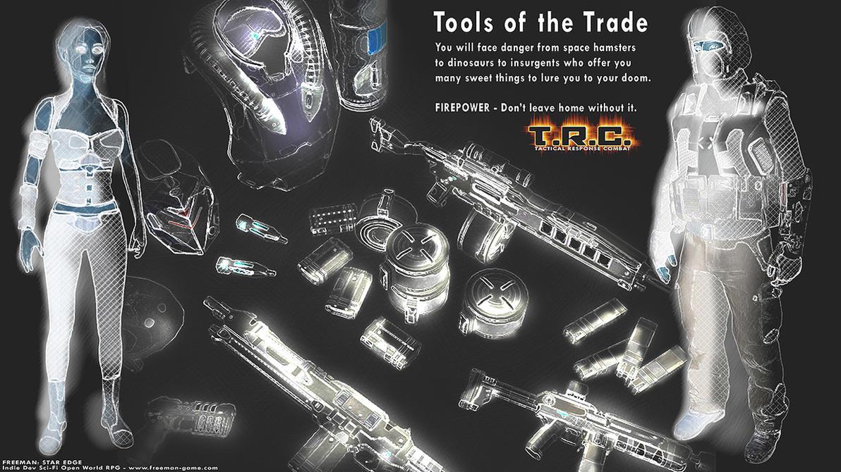 Tools of the Trade by carmenara