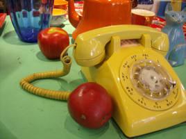Yellow Telephone photo by tastydoll