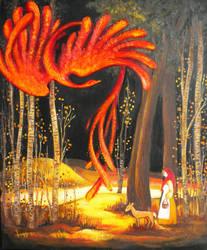 Fire Bird by tastydoll