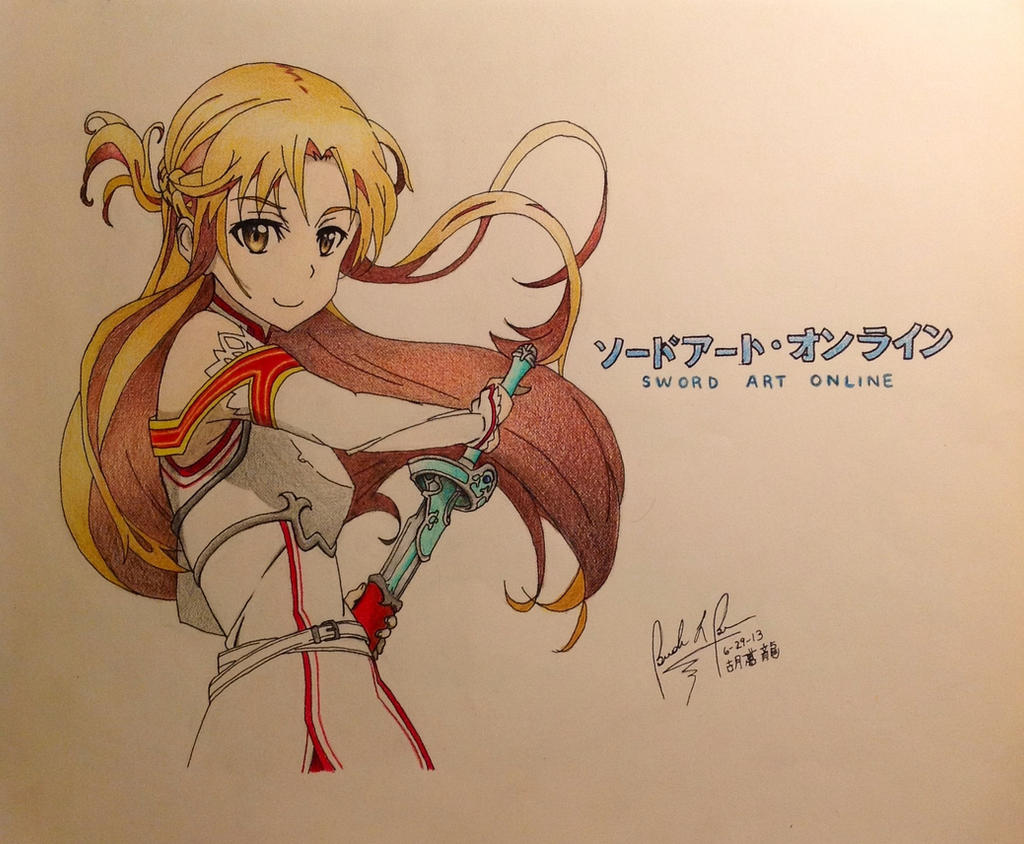Asuna by igottabubu