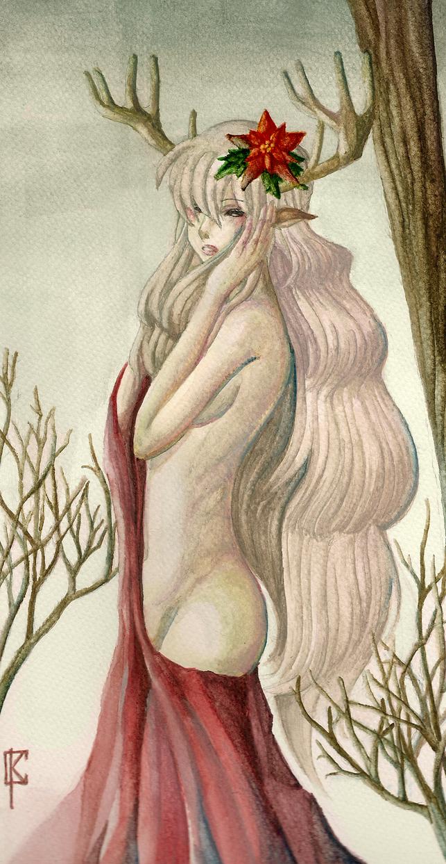 Poinsettia by Mysteltain08