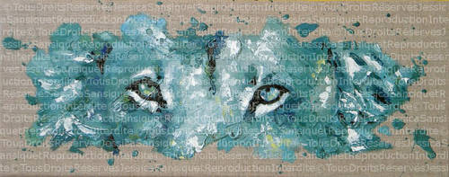Splashed eyes by JessicaSansiquet