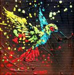 Le vol de l'oiseau mouche by JessicaSansiquet