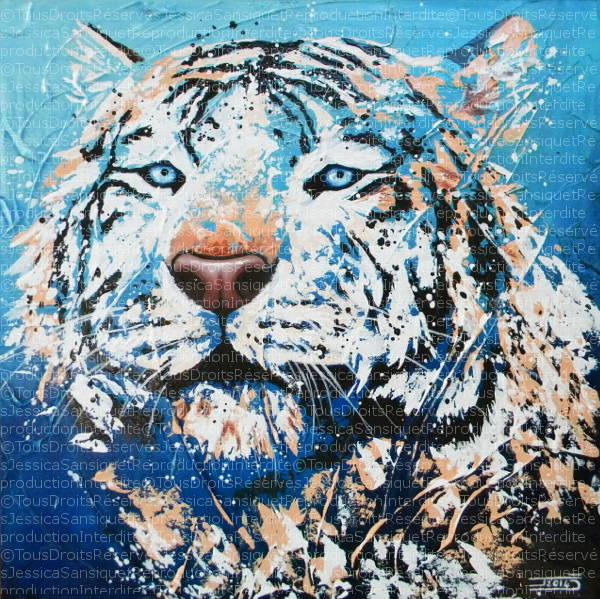 Le royal tigre blanc by JessicaSansiquet