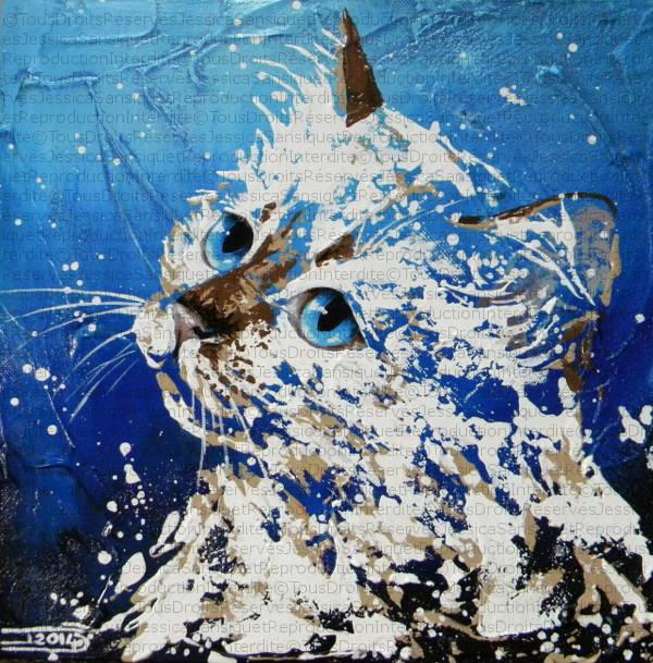 Blue eyes by JessicaSansiquet