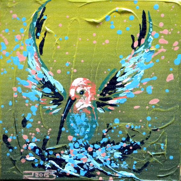 Aux ailes deployees by JessicaSansiquet
