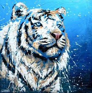 La benediction du tigre blanc by JessicaSansiquet