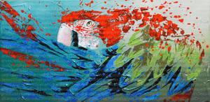Le bec dans les plumes by JessicaSansiquet
