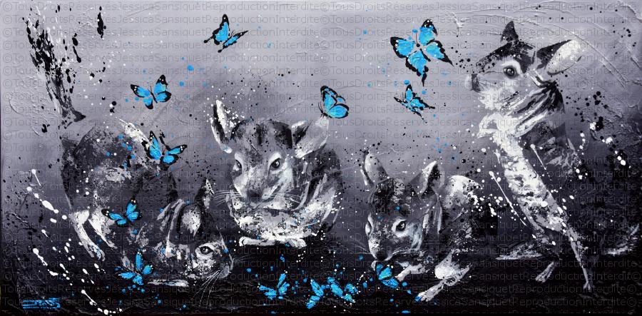Kamui et les papillons by JessicaSansiquet