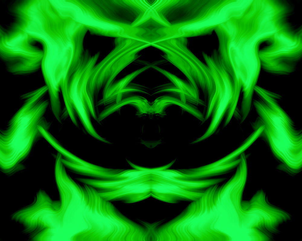 neon green background by chaos gloves on deviantart