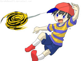 Ness and the Yoyo by HaruNoHana673