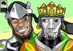 Genji And Zenyatta (Overwatch)