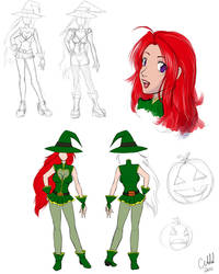 Concept Art - Elly 1 by TheCatlady