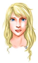 Jeanne Lyon portrait by TheCatlady