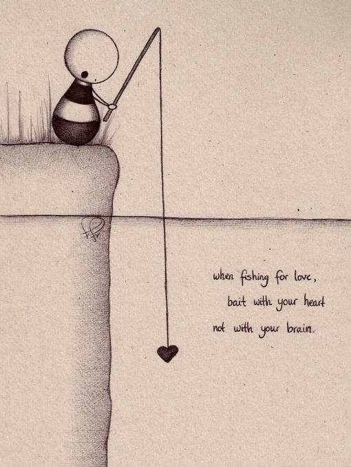 cute quotes for valentines day for boyfriend - fishing for love by MalvaAlcea on DeviantArt