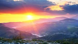 Muganli sunset