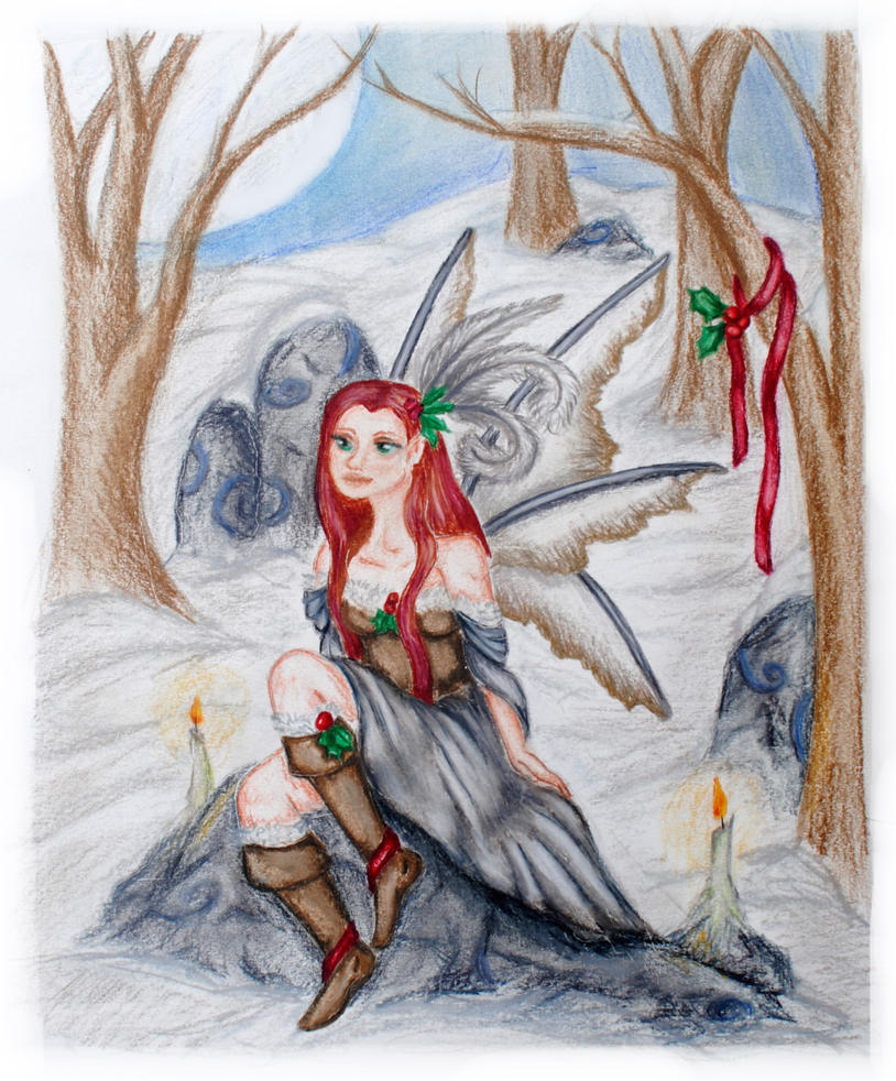 Yule Fairy by Miss-Evergreen