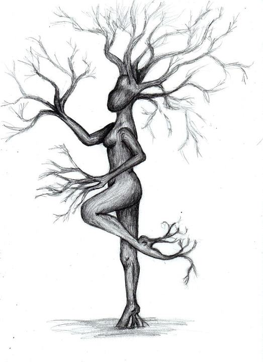 Dancing Dryad by Miss-Evergreen