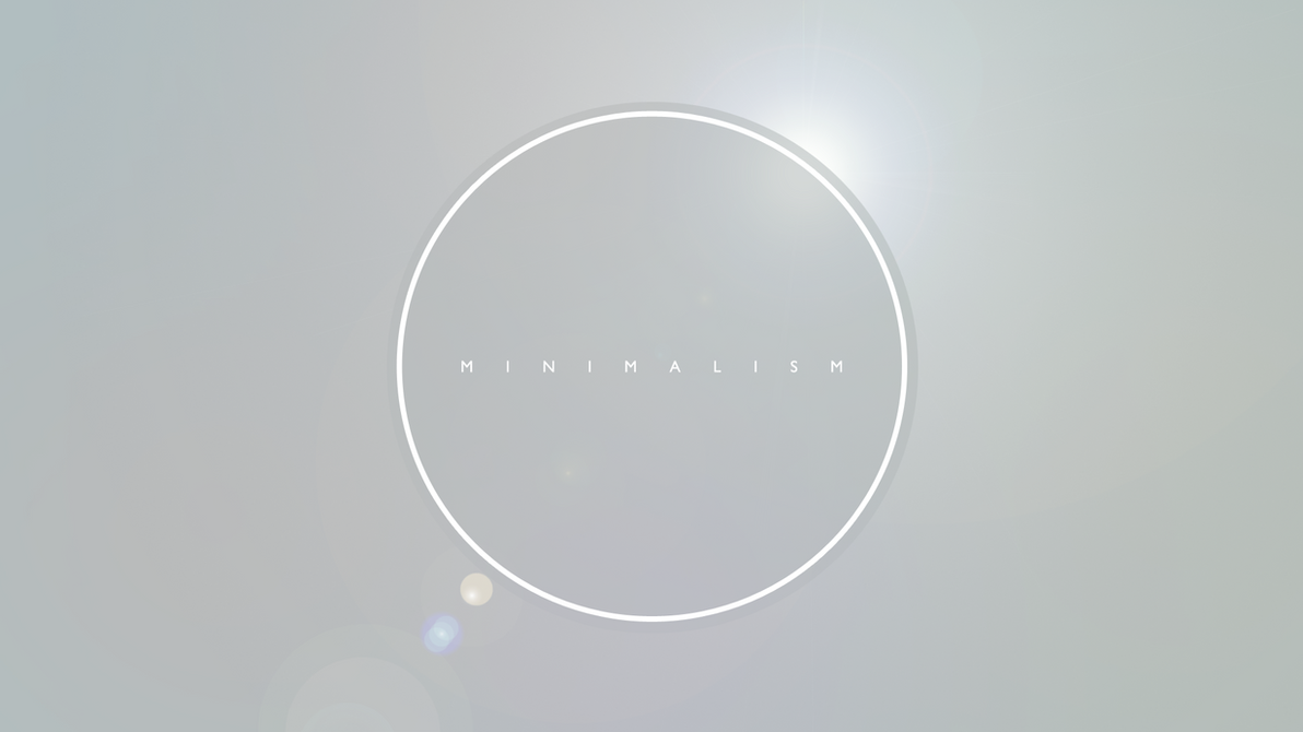 Minimalistic Wallpaper 1080p By Bartosss
