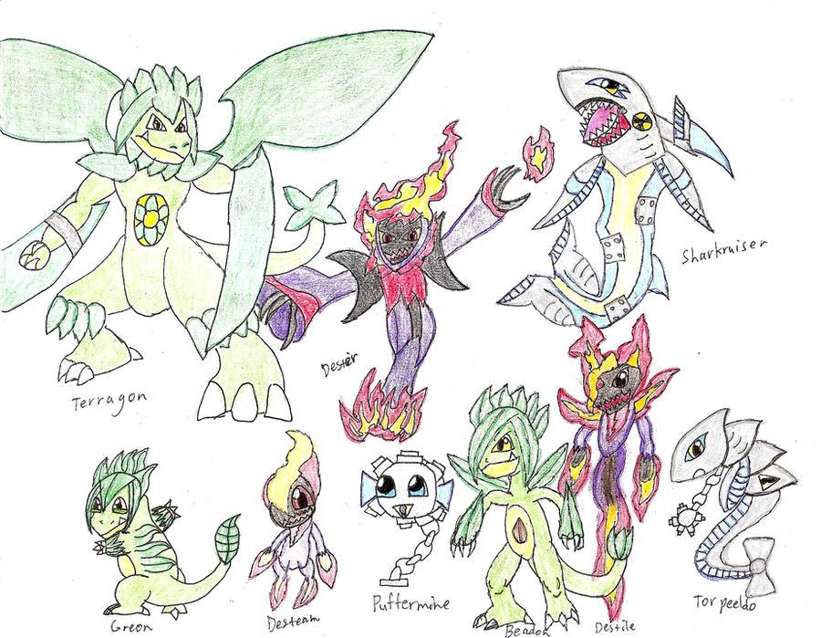 fan made pokemon. pokemon_crimson_and_cobalt__starters_redesigned_3_by_dyingwill3rd-d54k0wi.jpg fan made pokemon