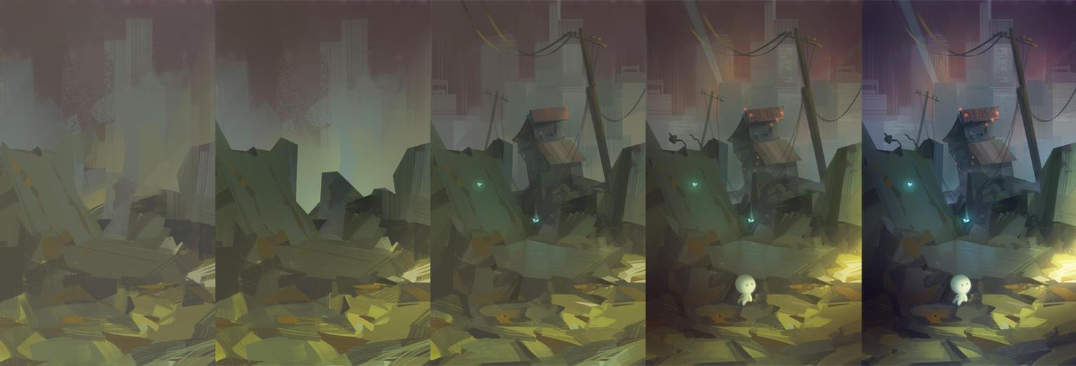 Metropolis steps by phomax