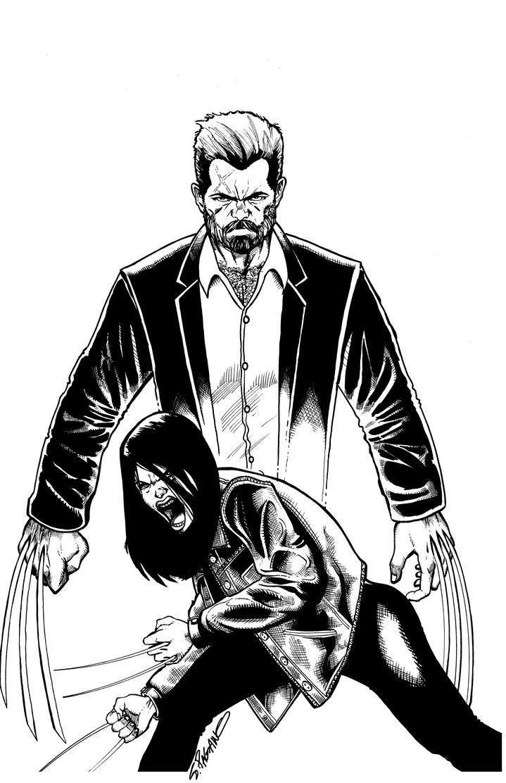Wolverine X23 by sjpagano
