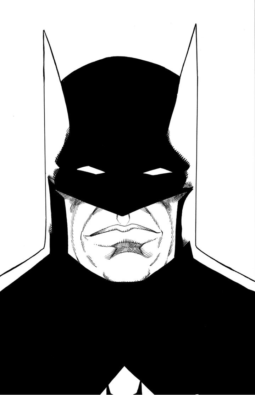 Batman Bust by sjpagano