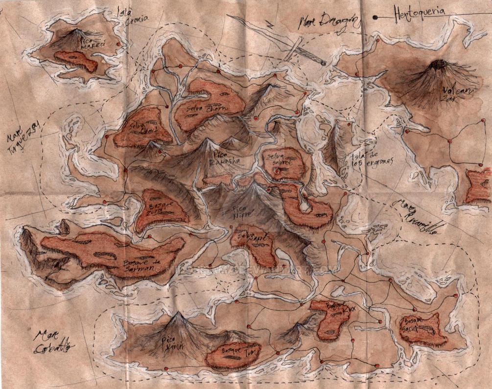coffee Map #1 by midorisama