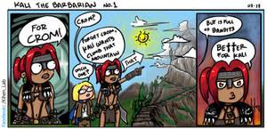Kali The Barbarian no1