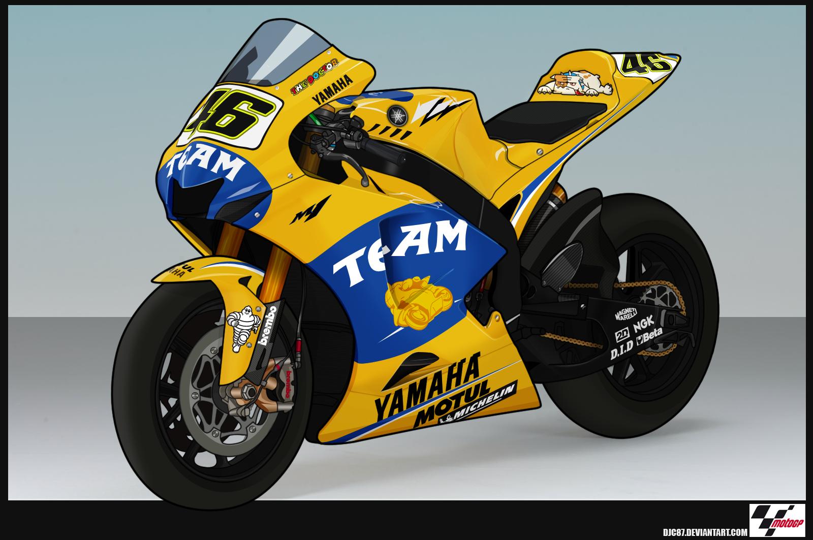 Yamaha M1 2006 Valentino Rossi by DJC87