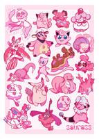 pink pokes by maskutchi