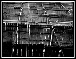 Moscow Scaffolding by ishootpeople