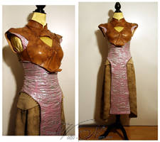 Daenerys Targaryen gown Game of Thrones costume by Volto-Nero-Costumes