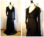Sansa Stark black gown Game of Thrones costume