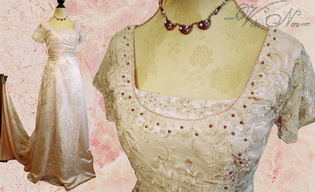 Titanic Rose Edwardian Wedding Gown Bridal Dress by Volto-Nero ...